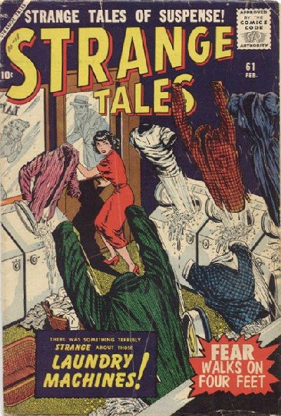 Cover for Strange Tales (Marvel, 1951 series) #61