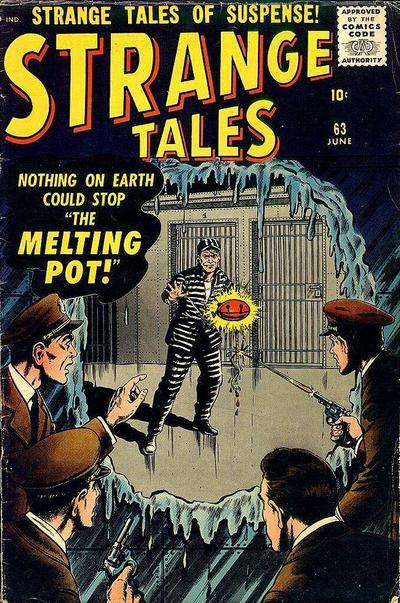 Cover for Strange Tales (Marvel, 1951 series) #63