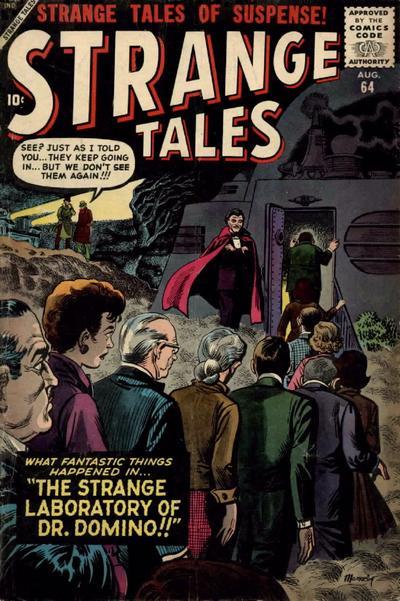 Cover for Strange Tales (Marvel, 1951 series) #64
