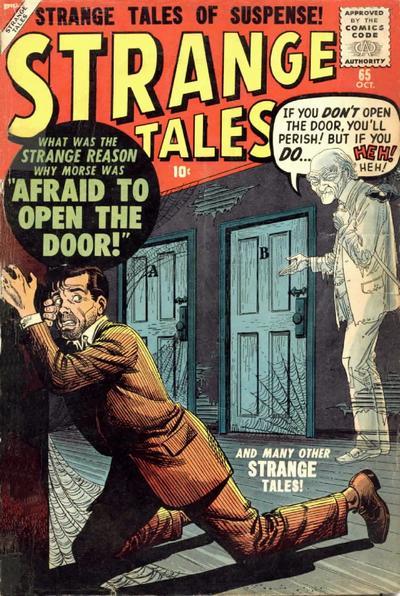 Cover for Strange Tales (Marvel, 1951 series) #65