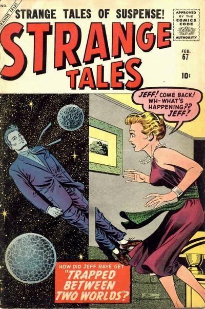 Cover for Strange Tales (Marvel, 1951 series) #67