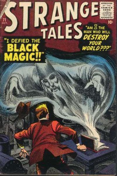 Cover for Strange Tales (Marvel, 1951 series) #71