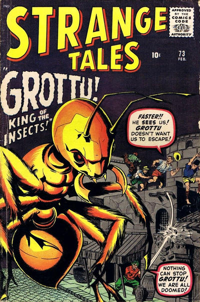 Cover for Strange Tales (Marvel, 1951 series) #73