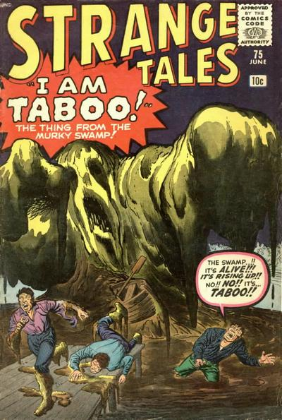 Cover for Strange Tales (Marvel, 1951 series) #75 [UK edition]