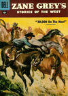 Cover for Zane Grey's Stories of the West (Dell, 1955 series) #34