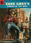 Cover for Zane Grey's Stories of the West (Dell, 1955 series) #36
