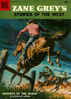 Cover for Zane Grey's Stories of the West (Dell, 1955 series) #37