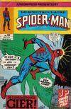 Cover for De spectaculaire Spider-Man [De spektakulaire Spiderman] (Juniorpress, 1979 series) #19