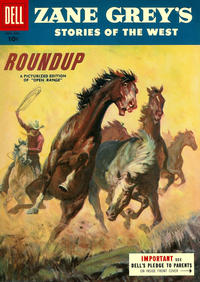 Cover Thumbnail for Zane Grey's Stories of the West (Dell, 1955 series) #27