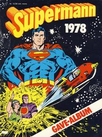 Cover Thumbnail for Supermann gavealbum (Semic, 1977 series) #1978