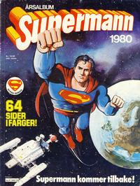 Cover Thumbnail for Supermann årsalbum (Semic, 1978 series) #1980