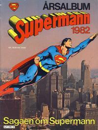 Cover Thumbnail for Supermann årsalbum (Semic, 1978 series) #1982