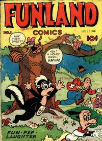 Cover Thumbnail for Funland Comics (Croydon Publishing Co., 1945 series) #1