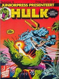Cover Thumbnail for Hulk Liefhebbersserie (Juniorpress, 1983 series) #5