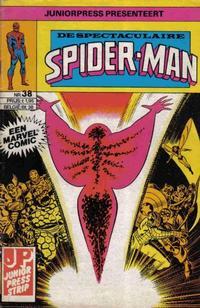 Cover Thumbnail for De spectaculaire Spider-Man [De spektakulaire Spiderman] (Juniorpress, 1979 series) #38