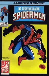 Cover Thumbnail for De spectaculaire Spider-Man [De spektakulaire Spiderman] (Juniorpress, 1979 series) #55