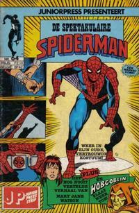 Cover Thumbnail for De spectaculaire Spider-Man [De spektakulaire Spiderman] (Juniorpress, 1979 series) #64