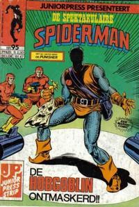 Cover Thumbnail for De spectaculaire Spider-Man [De spektakulaire Spiderman] (Juniorpress, 1979 series) #95