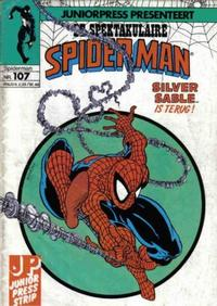 Cover Thumbnail for De spectaculaire Spider-Man [De spektakulaire Spiderman] (Juniorpress, 1979 series) #107