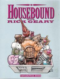 Cover Thumbnail for Housebound With Rick Geary (Fantagraphics, 1991 series)