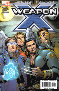 Cover Thumbnail for Weapon X (Marvel, 2002 series) #17