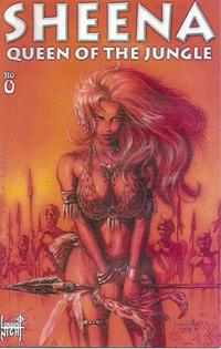 Cover Thumbnail for Sheena - Queen of the Jungle (London Night Studios, 1998 series) #0 [Regular Cover]