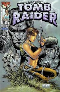 Cover for Tomb Raider: The Series (Image, 1999 series) #9 [Park Sketch Variant]