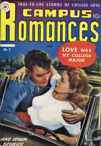 Cover Thumbnail for Campus Romances (Superior Publishers Limited, 1950 series) #2