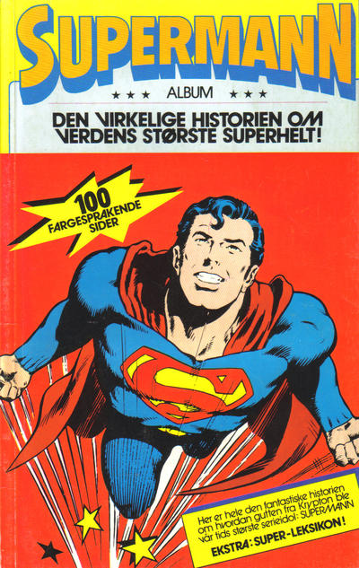 Cover for Supermann (Atlantic Forlag, 1981 series)