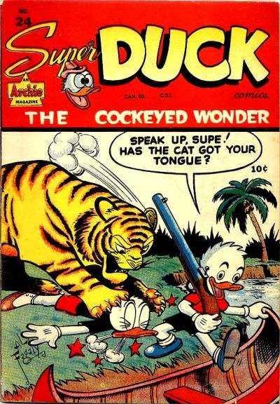 Cover for Super Duck Comics (Bell Features, 1948 series) #24