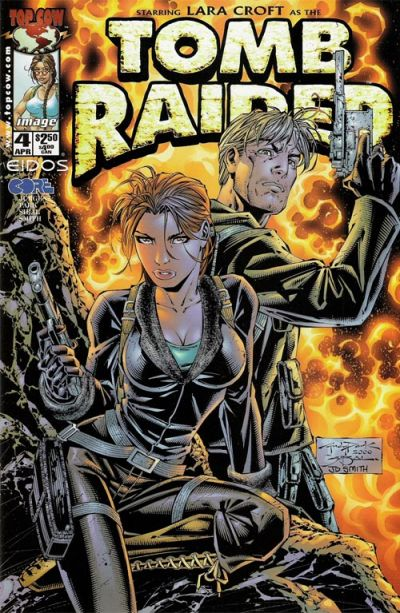 Cover for Tomb Raider: The Series (Image, 1999 series) #4