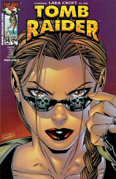 Cover for Tomb Raider: The Series (Image, 1999 series) #14 [Diamond Exclusive Variant Cover]