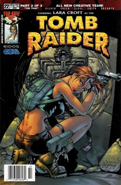 Cover for Tomb Raider: The Series (Image, 1999 series) #22