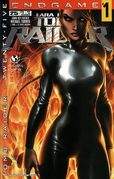 Cover for Tomb Raider: The Series (Image, 1999 series) #25 [Free Reader Copy Variant]