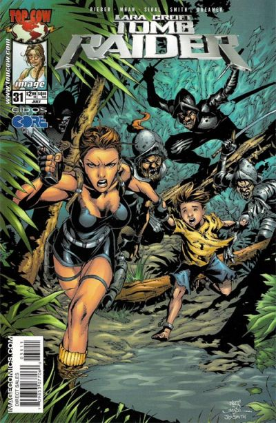 Cover for Tomb Raider: The Series (Image, 1999 series) #31