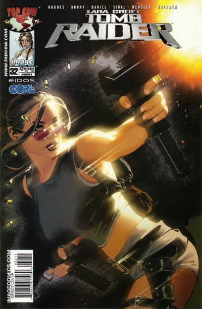 Cover for Tomb Raider: The Series (Image, 1999 series) #32 [Daniel Cover]