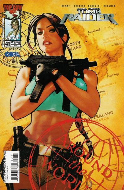 Cover for Tomb Raider: The Series (Image, 1999 series) #41