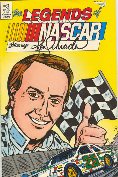 Cover for The Legends of NASCAR (Vortex, 1991 series) #3