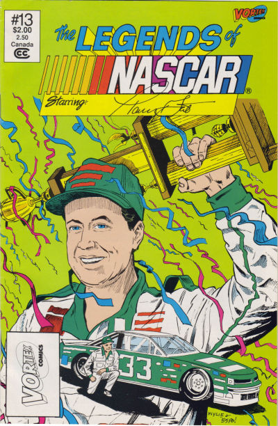 Cover for The Legends of NASCAR (Vortex, 1991 series) #13