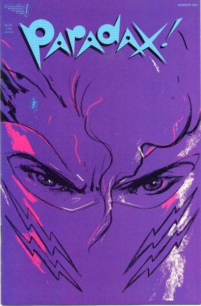 Cover for Paradax! (Vortex, 1987 series) #1