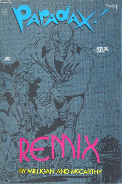 Cover for Paradax! (Vortex, 1987 series) #2