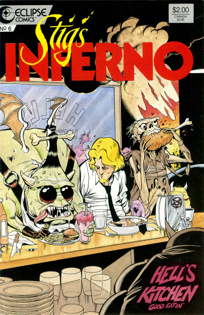 Cover for Stig's Inferno (Eclipse, 1987 series) #6