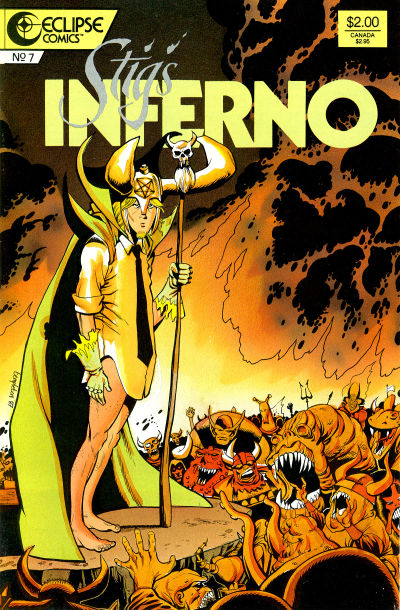 Cover for Stig's Inferno (Eclipse, 1987 series) #7