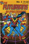 Cover for Futurians by Dave Cockrum (Lodestone, 1985 series) #3