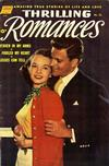 Cover for Thrilling Romances (Pines, 1949 series) #18