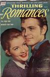 Cover for Thrilling Romances (Pines, 1949 series) #21