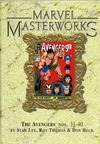 Cover for Marvel Masterworks: The Avengers (Marvel, 2003 series) #4 (38) [Limited Variant Edition]
