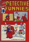 Cover for Little Giant Detective Funnies (Centaur, 1938 series) #4