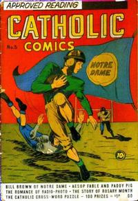 Cover Thumbnail for Catholic Comics (Charlton, 1946 series) #v1#5