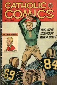 Cover Thumbnail for Catholic Comics (Charlton, 1946 series) #v2#1